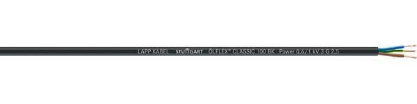 ÖLFLEX CLASSIC 100 BK 0,6/1kV
